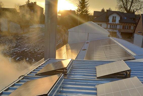 BUDOWNICTWO Piotr Skrzypek - Zasilanie zakładu energią odnawialną